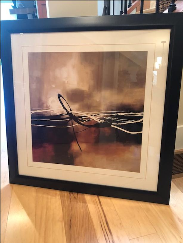 PICTURE – framed print, abstract - Reduced