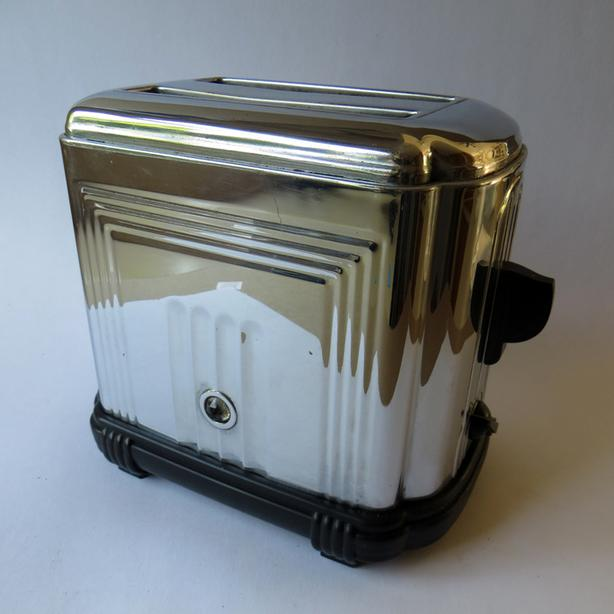 Art-Deco Sunbeam T-1-D  1936 toaster