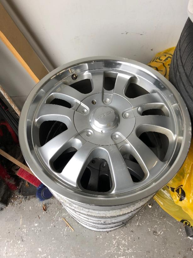 "17 x 7.5"" Alloy Wheels 6 lug for Nissan or Toyota"