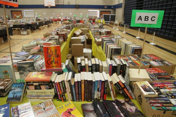 Garden House 12th Annual Charity Giant Used Book Sale