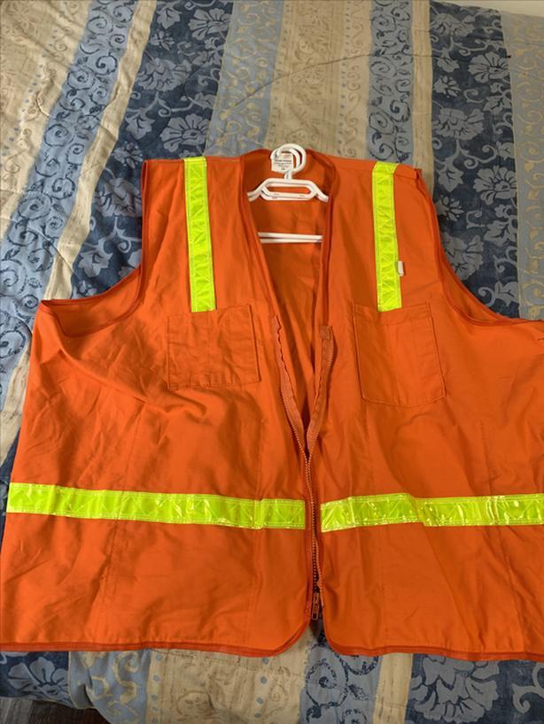 Hi-Visibility Vest Men 5XL made in USA