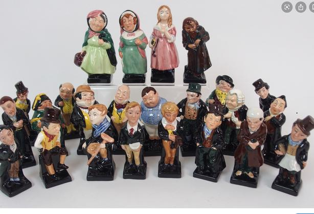 Royal Doulton Pickwick papers figurines