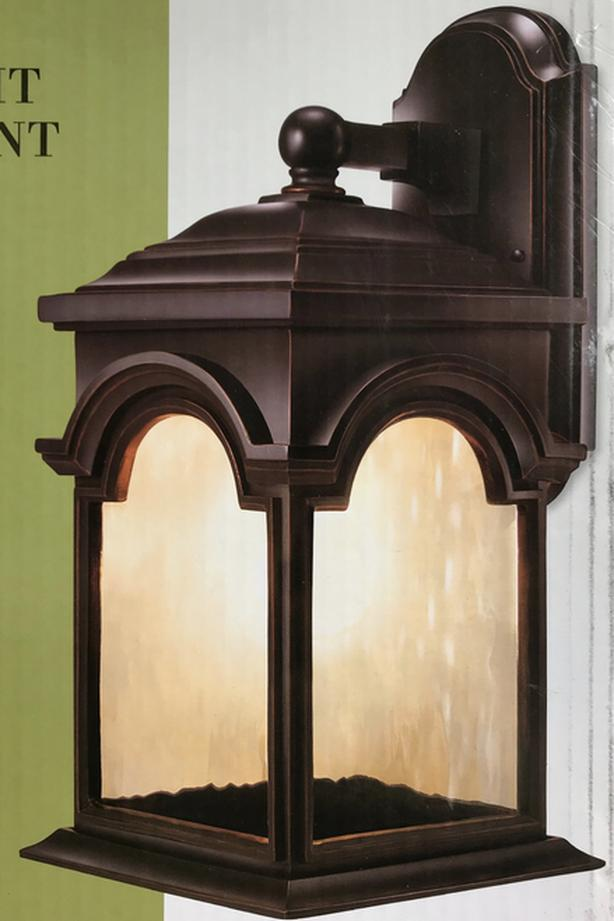 "NEW - 16 1/2"" Outdoor Light - Oil-rubbed Bronze Finish"