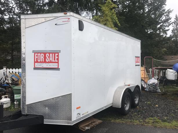 2018 Royal Aluminum 14' Cargo Trailer
