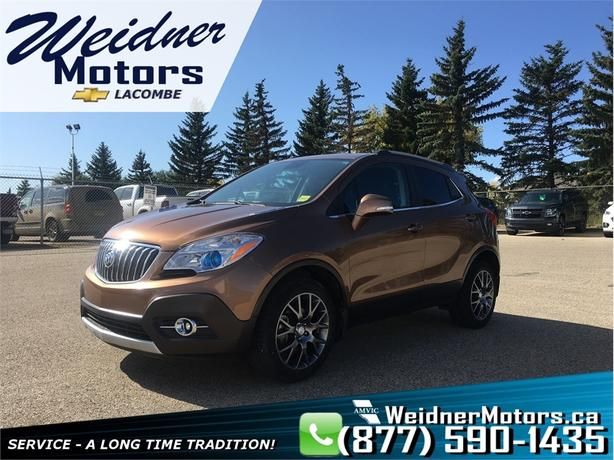2016 Buick Encore *Leather Interior / Deluxe Front Buck Seats*