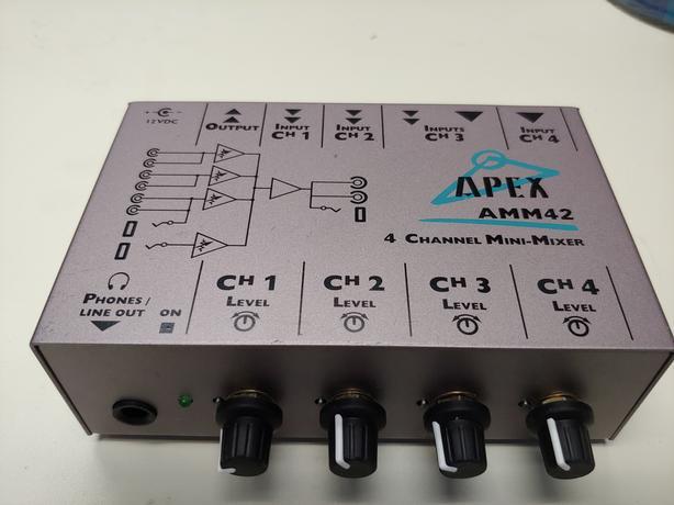 Apex AMM42 4ch mini mixer