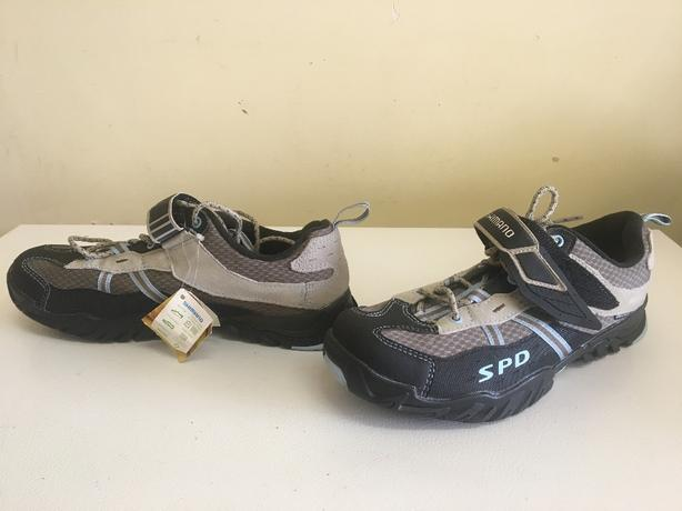 Womens Shimano spd sh-wm41 cycling shoes  Size 10.4 US 43 EUR