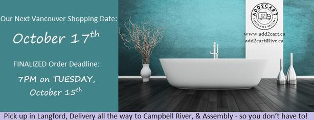 Add2cart.ca Victoria | We deliver IKEA |October 17th