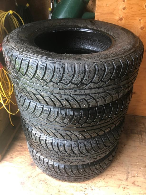 Used Winter truck tires