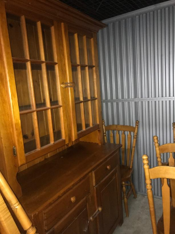 Kitchen Pine Set made by the Mennonites in excellent condition