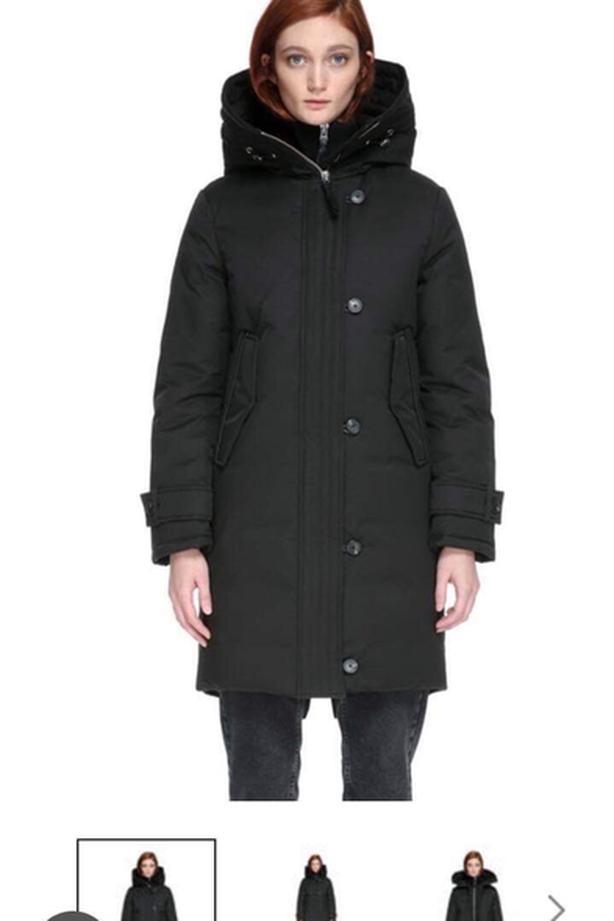 Mackage Villa Hooded Down Coat women size M