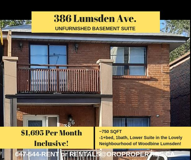 386 Lumsden - The East York Suite Fit for a King!