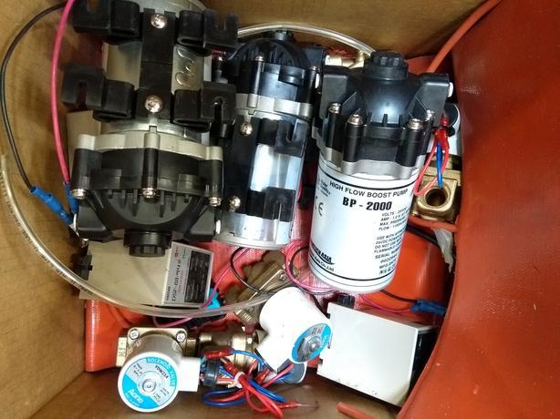High Flow Boost Pump
