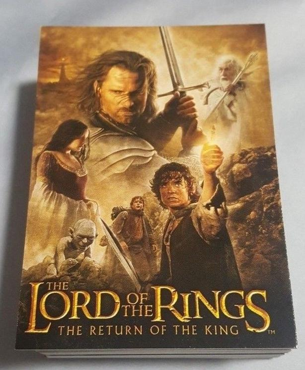 Lord of the Rings-Return of the King Card Set