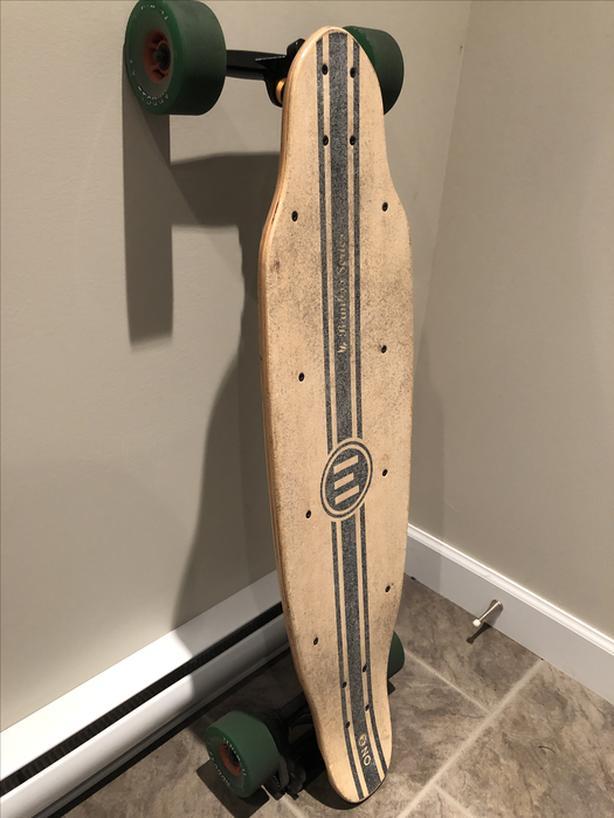 Electric Skateboard - Evolve ONE Bamboo Edition