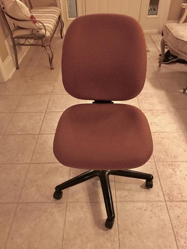 Office Chair Adjustable rose colour