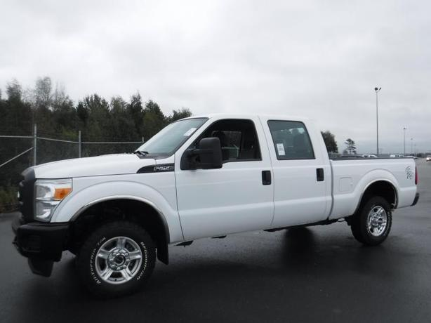 2015 Ford F-250 SD XL Crew Cab 4WD short box