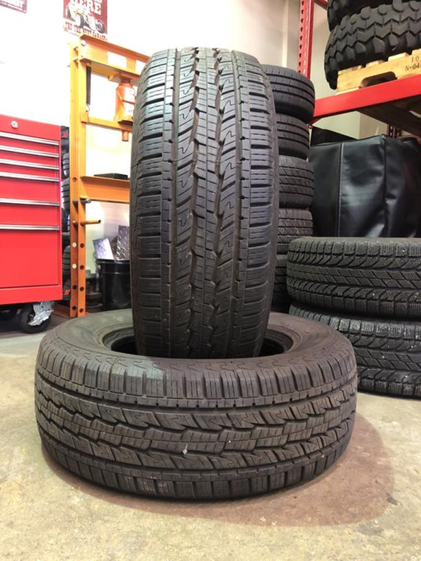 Pair of 265/65 R17 M+S tires