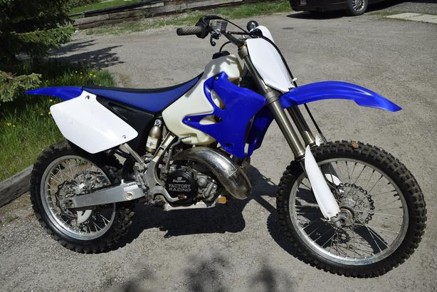 2008 Yamaha YZ 250 (2 stroke) video link in description