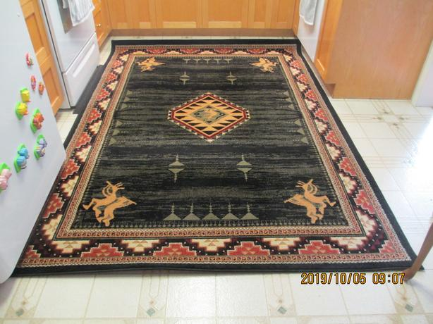 $75 OBO KOKOPELLI design Persian Rug/Carpet