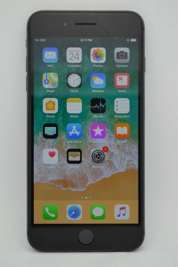 Apple iPhone 8 Plus 64GB Black Unlocked with Original Box
