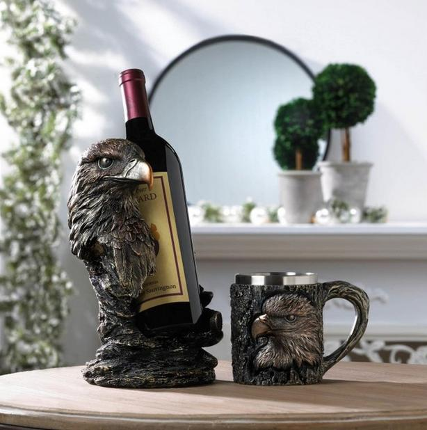 Eagle Wine Bottle Holder & Mug Cup 10PC Mixed Gifts Resale Brand New