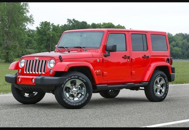 Stock Jeep Fenders