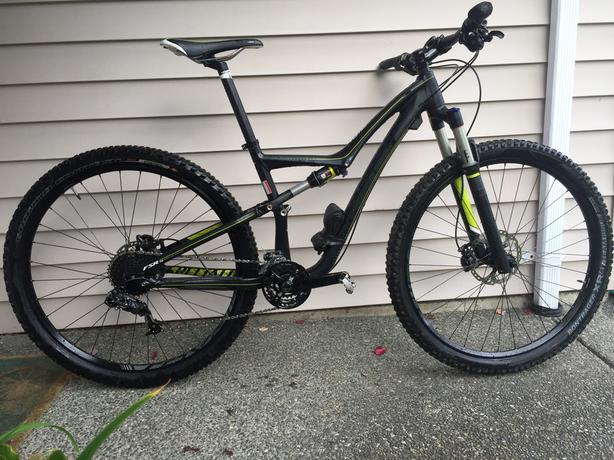 Specialized Rumor Comp Mtn Bike     $1750