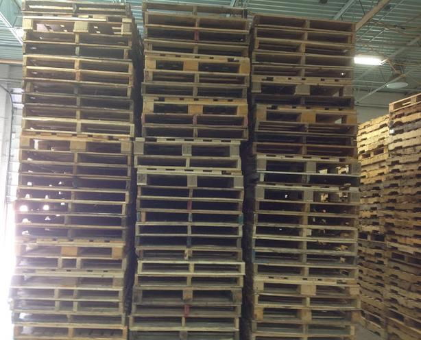 CUSTOM and STOCK PALLETS