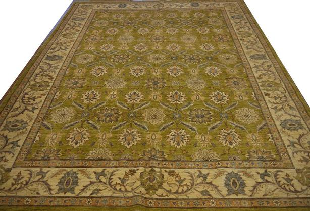"Handmade Traditional Afghan Area Rug 10'5"" x 8'3"""
