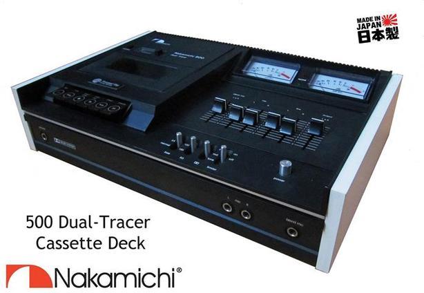 Cassette Deck ~ Nakamichi 500
