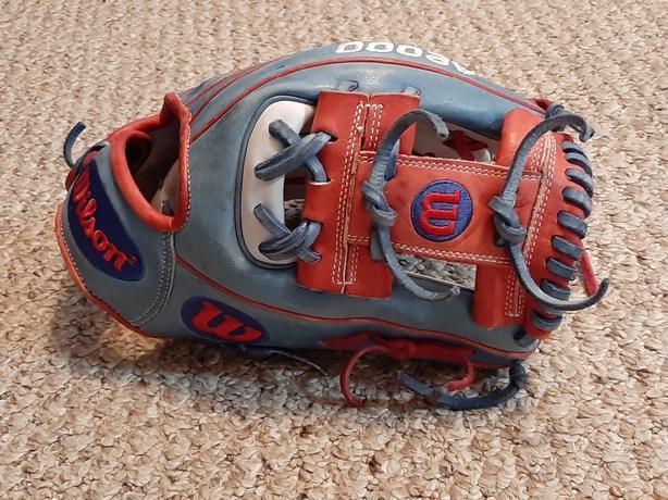 Wilson A2000 11.5 1786 baseball glove no.1 choice for the pros