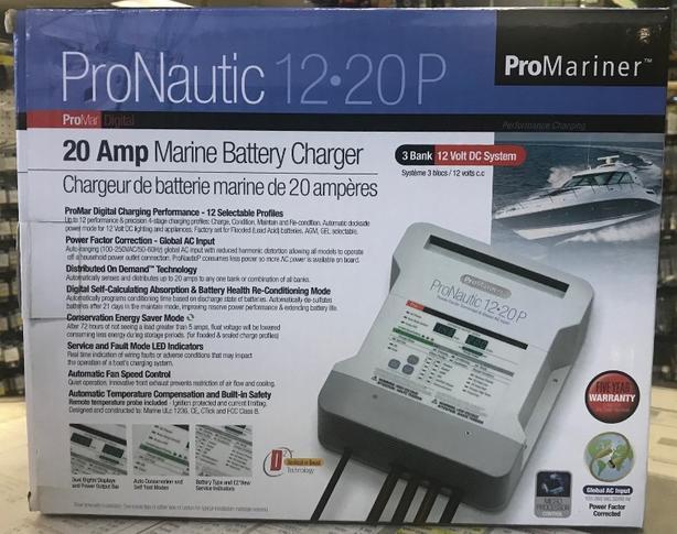 ProMariner ProNautic 12.20P Marine Battery Charger (NEW)
