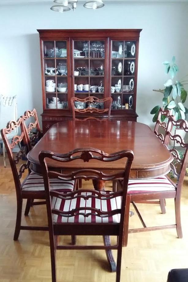 Antique Dining Room Set for sale