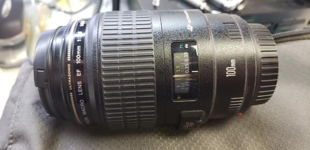 Canon 100mm EF USM Macro Lens