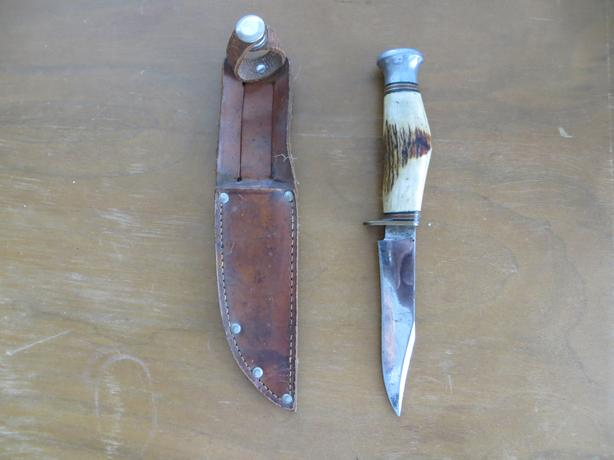 "Vintage J.H. Thompson Cutlery -  ""Sabre"" Knife"