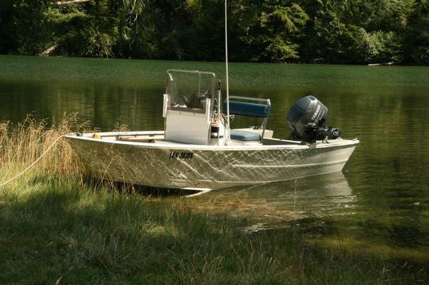 Reduced!  Lifetimer 1700 Centre-Console 17' Welded Aluminum Boat