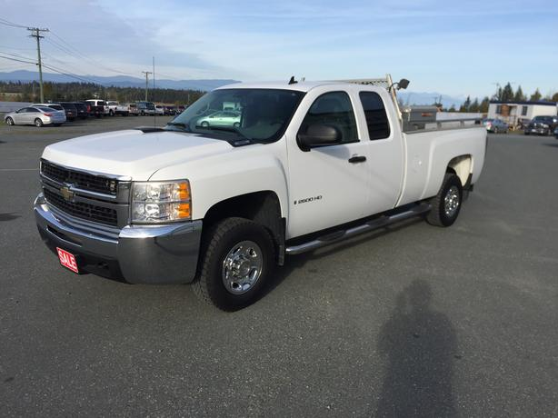 2008 Chevrolet Silverado 2500 HD, EXT Cab, 2WD, Long Box, 6.0L Vortec 353HP