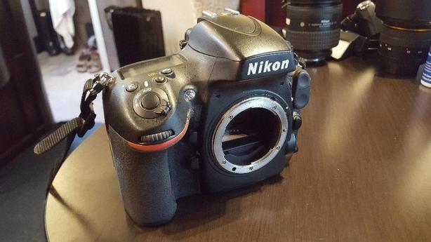 Nikon D800 body.... nice!