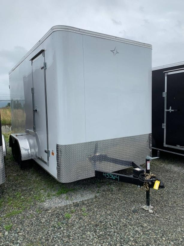 SALE NEW 2020 7X14 Tandem Royal Cargo Trailer with barn doors