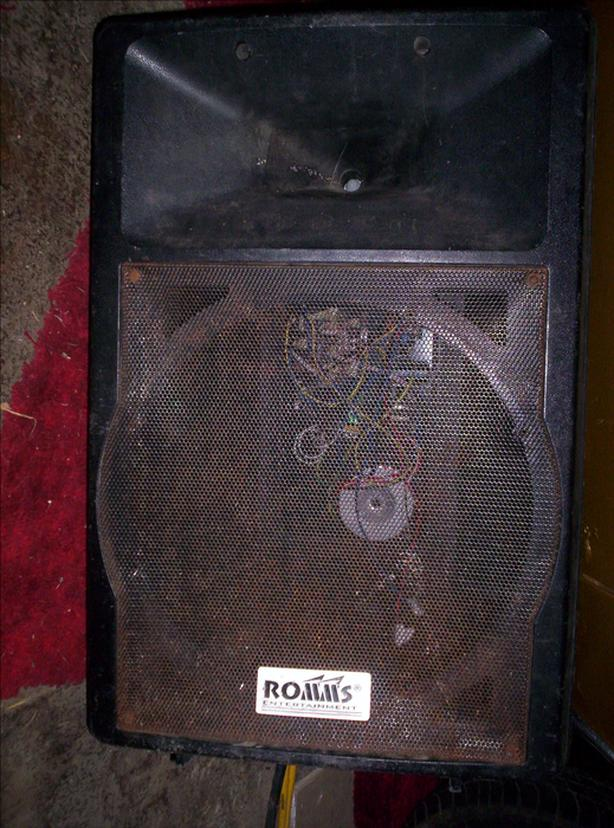 FREE: ROMMS PA CAB/HORN