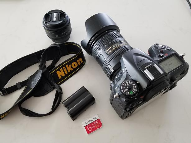 Nikon D7100 with Nikkor 16-85mm and Nikkor 50mm 1.8