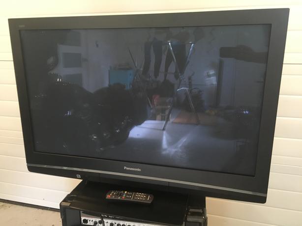 "42"" plasma HD TV with remote. 720P."