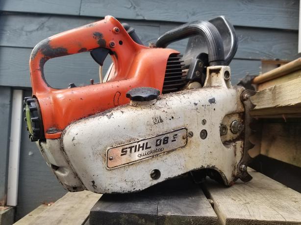 Vintage Stihl 08s chainsaw