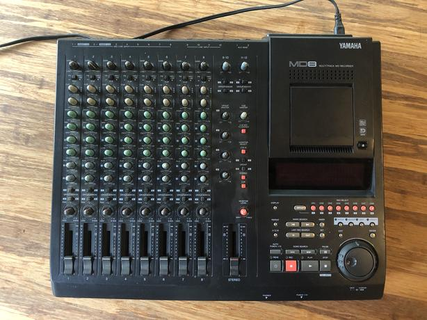 Yamaha MD-8 Multitrack Minidisc Recorder