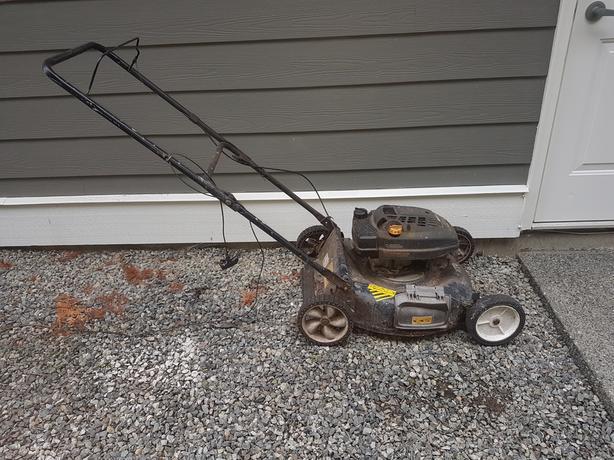 FREE: Free Lawn mower