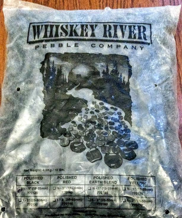 Whiskey River Polished Pebbles