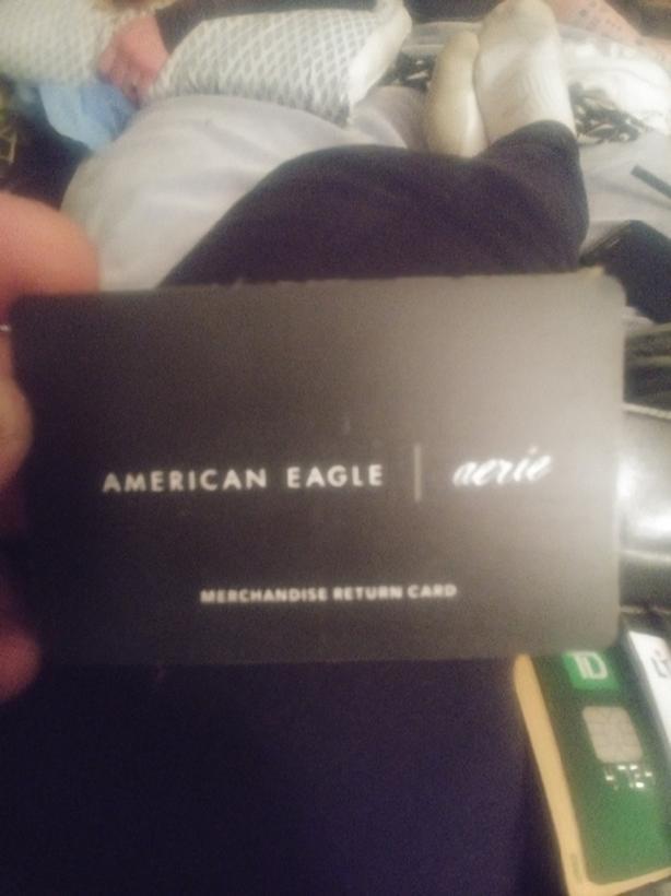 American Eagle Gift Card.