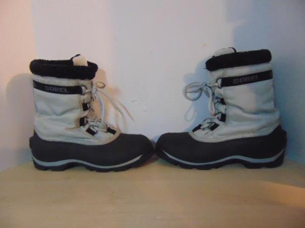 Winter Boots Men's Size 10.5 Sorel Grey Black