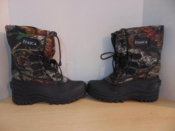 Winter Boots Men's Size 11 Itaska With Liner Camo Hunting Print